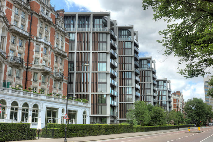 The landmark London residence One Hyde Park: the Candy brothers' project broke house-price records and made headlines with its lavishness